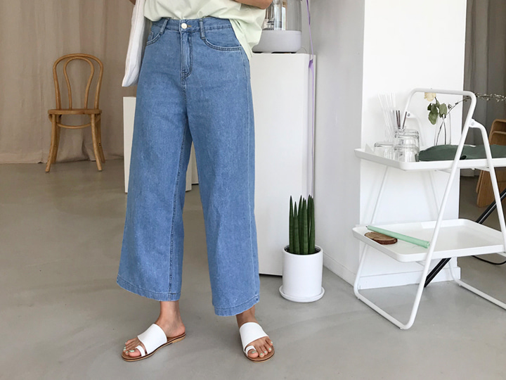[Our] 158cm River pants (2 color)