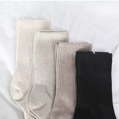몽글 socks ( 4 color )