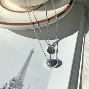 피아 necklace (2 color)
