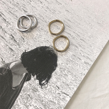 러븐 ring set (2 color)